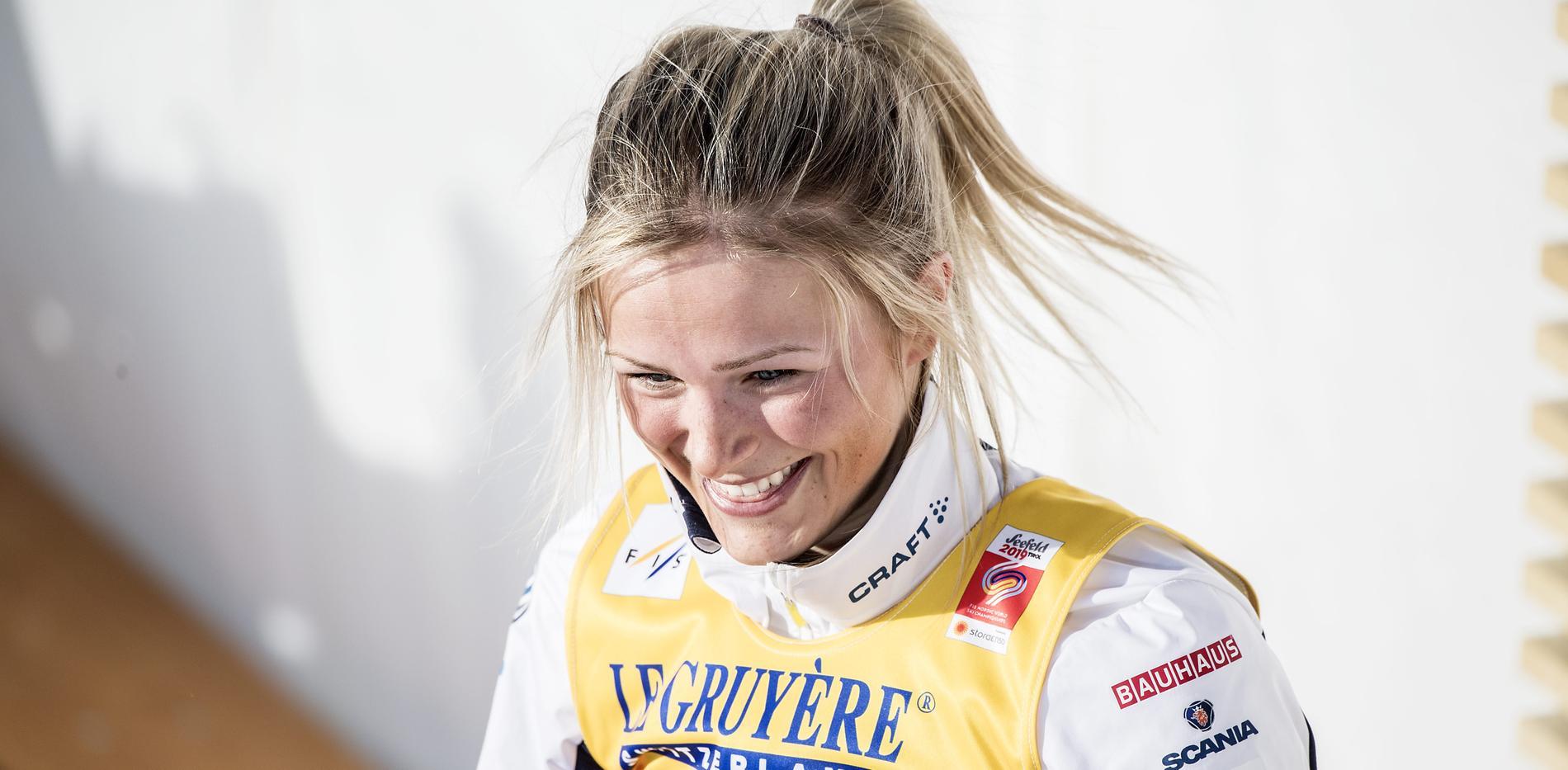 Frida Karlsson tog ett sensationellt VM-silver på 10 kilometer