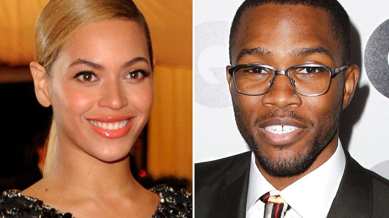Beyonce hyllar Frank Ocean för beslutet att berätta om sin sexualitet.