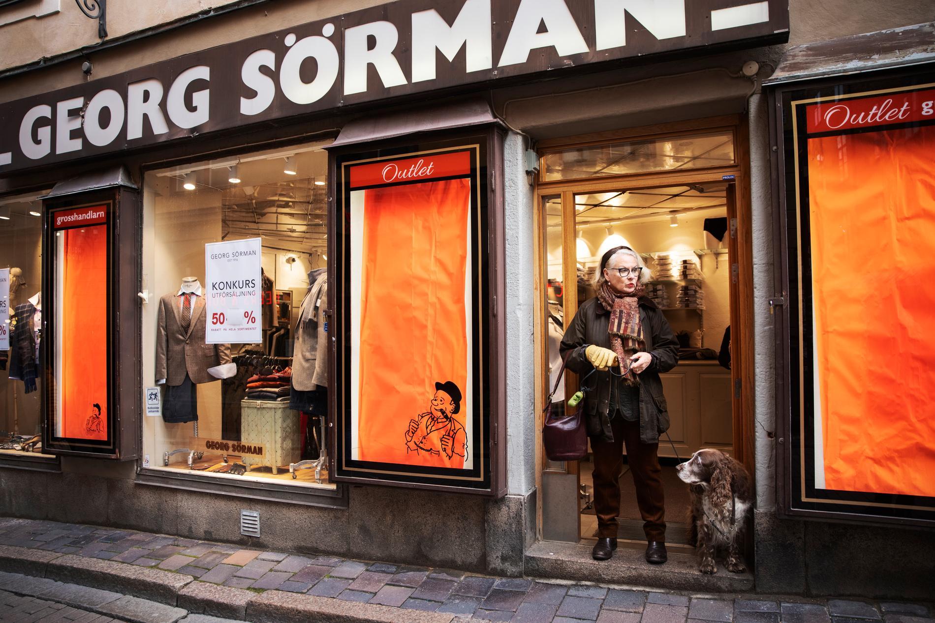 """""""Jag saknade kunderna. Det finns en dynamik i att träffa dem, det är så mycket som händer"""", säger Birgitta Sörman-Nilsson."""