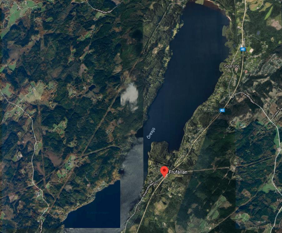 Lyckades söka hjälp och slå larm med hjälp av boende i området Frufällan, i norra Borås.