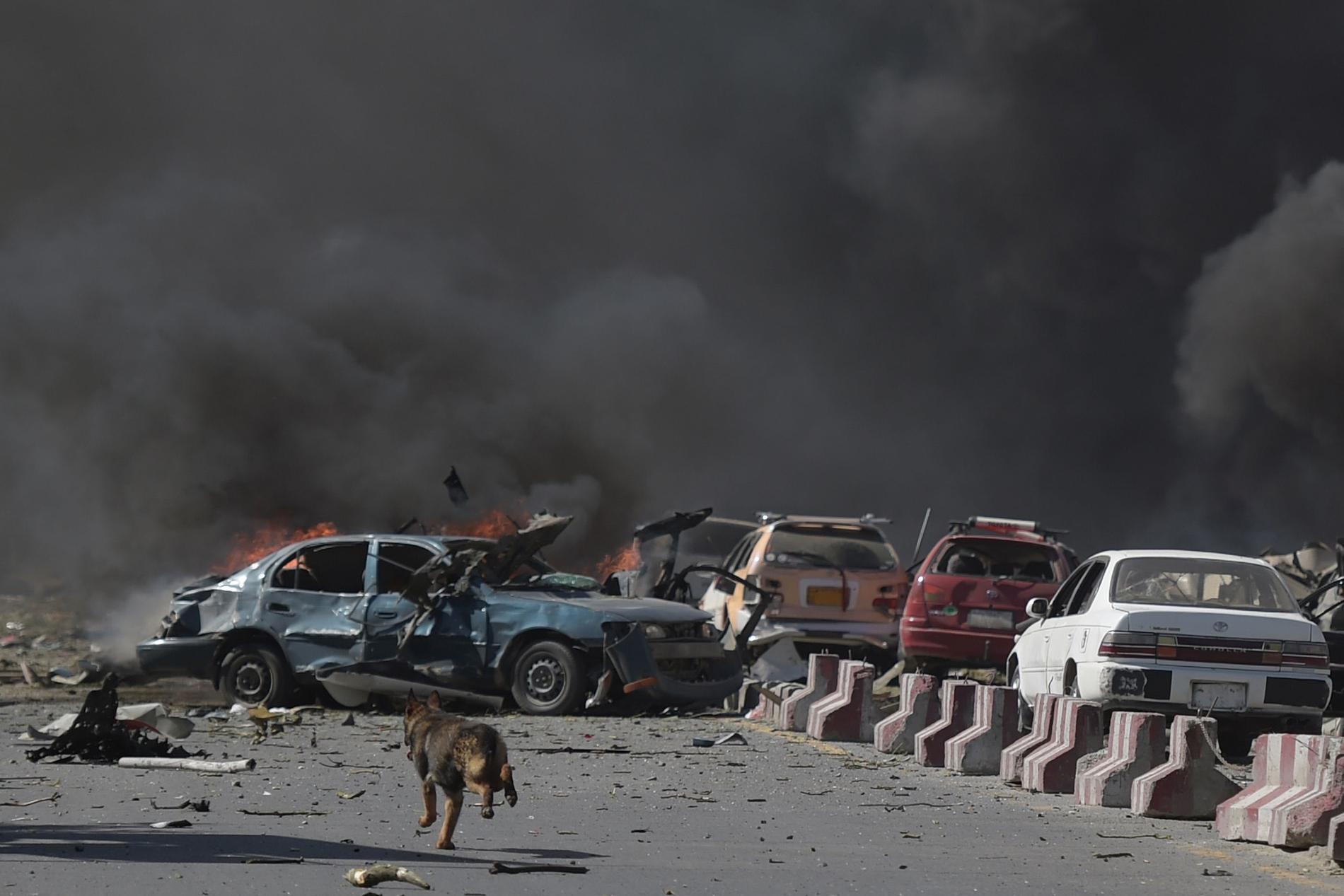 Minst 80 människor dödades när en bilbomb exploderade i Kabul i slutet på maj.