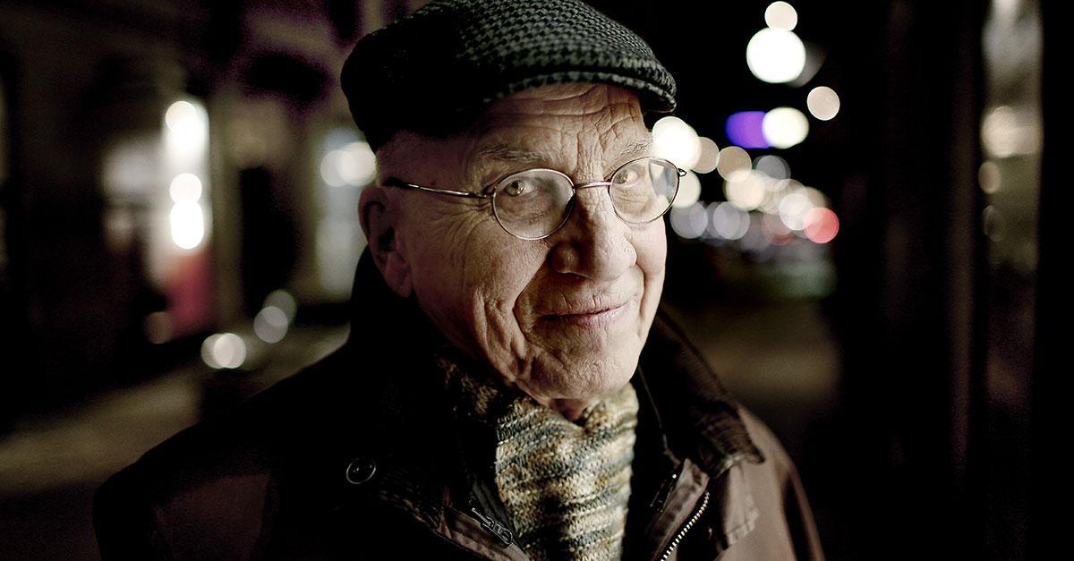 Journalisten Åke Ortmark blev 89 år gammal.