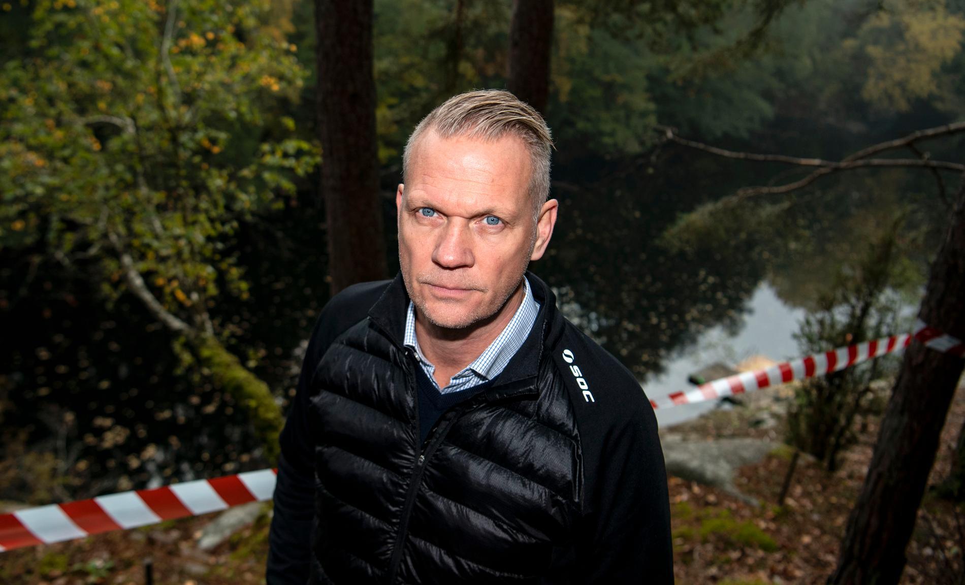 Bo Lundqvist är chef för kalla fall-gruppen i syd. Arkivbild.