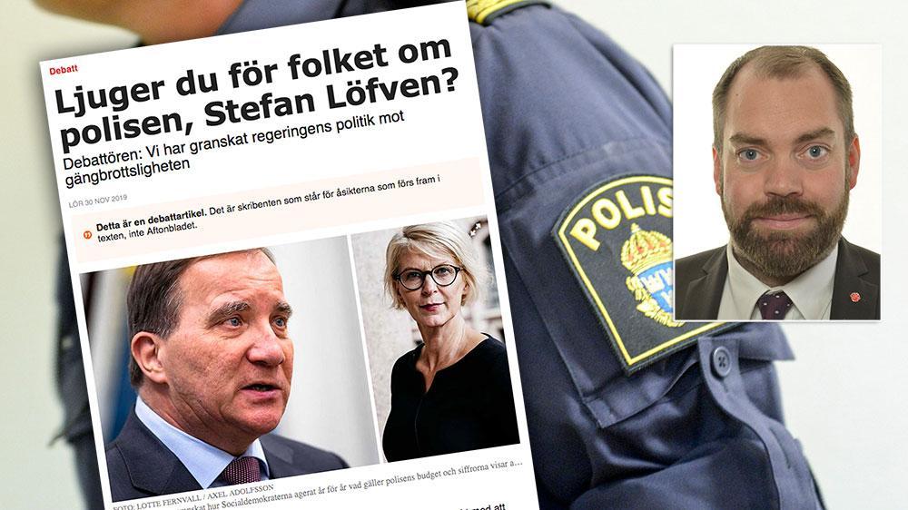Om inte Moderaternas tidigare regering hade fokuserat på skattesänkningar på 140 miljarder, med urholkning av välfärden och rekordfå polisutbildningsplatser som följd, skulle vi haft ett starkare samhälle, skriver Fredrik Lundh Sammeli.