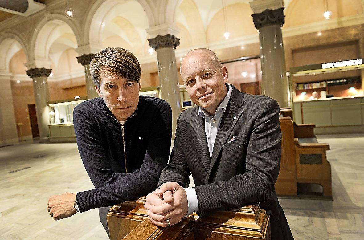 Richard Jomshof och Björn Söder.