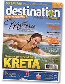 Premiärnumret av nya resemagasinet Destination säljs med Aftonbladet tisdag 17, onsdag 18 och torsdag 19 februari.
