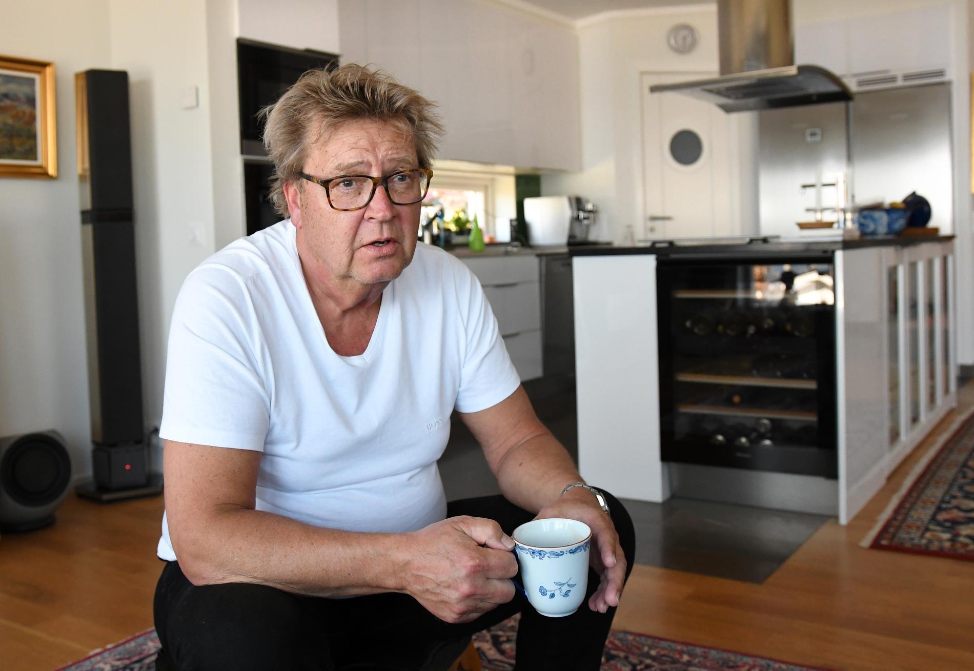 """Pelle Åresson tycker att situationen är """"åt helvete""""."""
