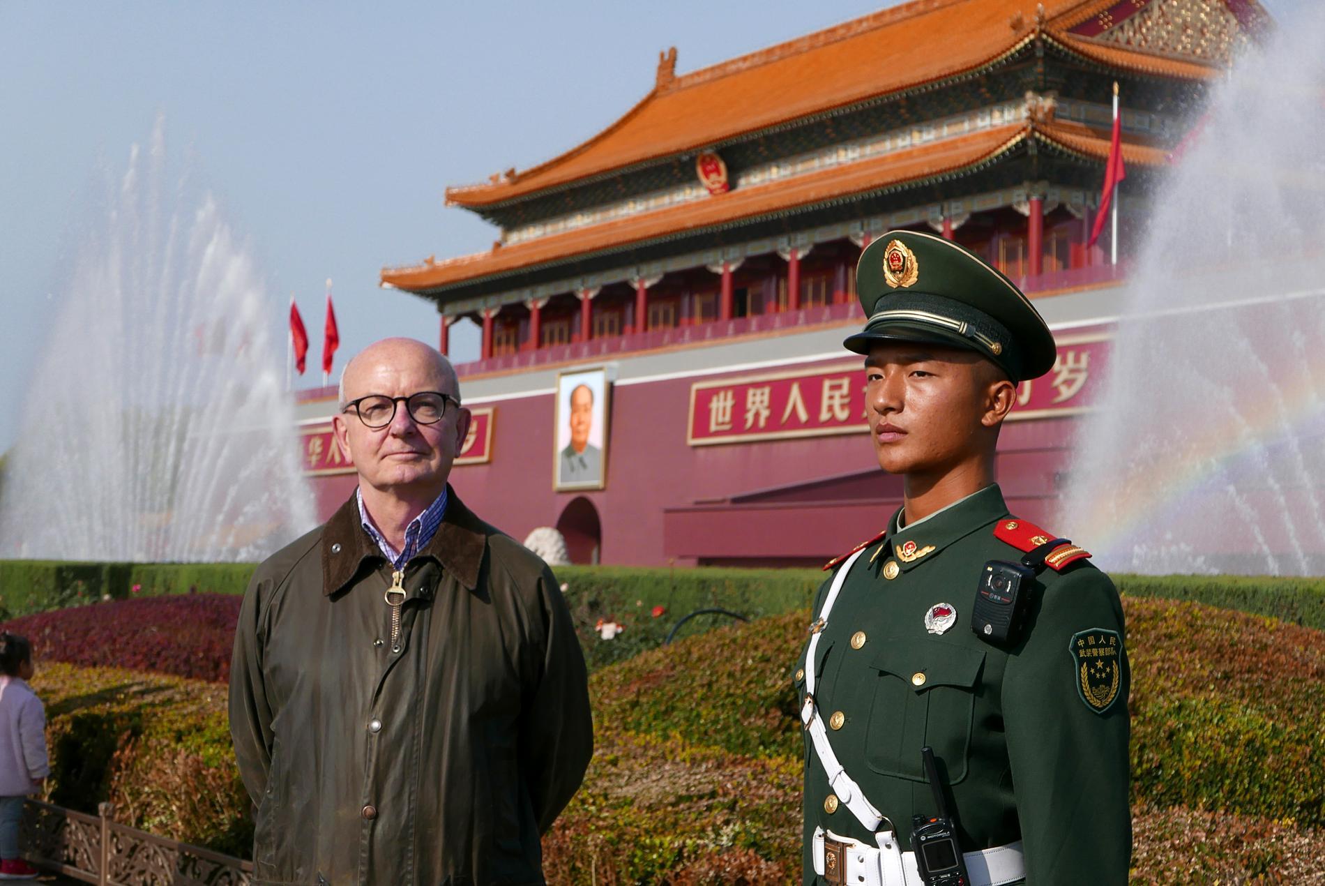 Peter Kadhammar i Peking.