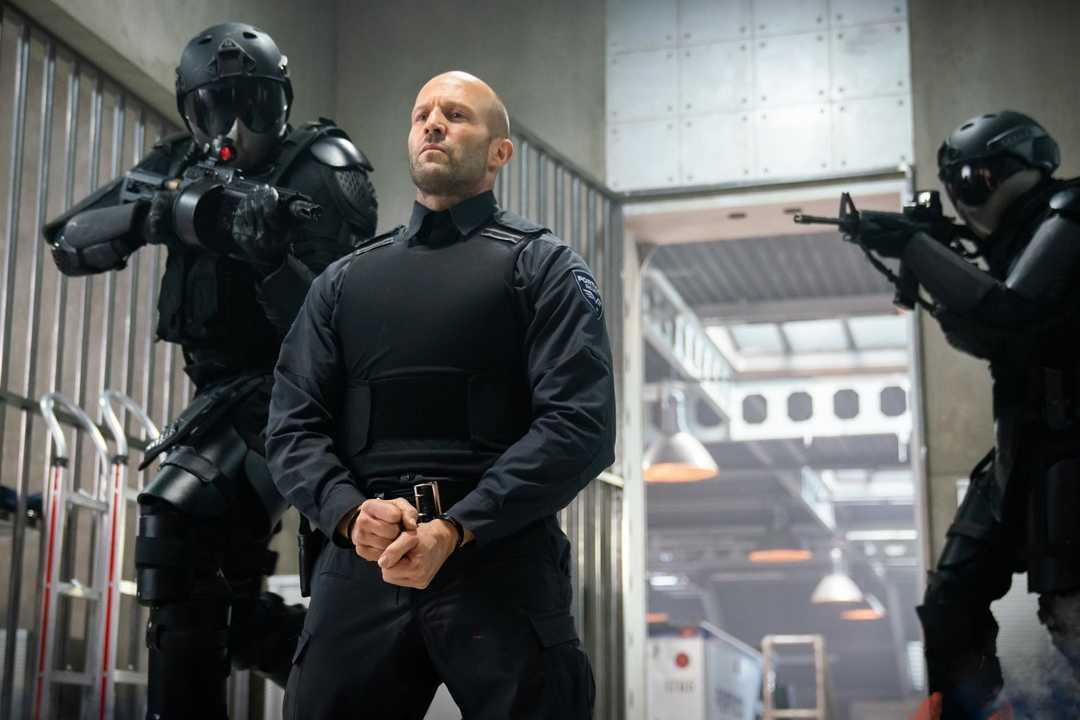 "Jason Statham i ""Wrath of man""."