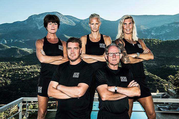 Mästarnas mästare, i grupp 1 tävlar:  orienteraren Marita Skogum, friidrottaren Carolina Klüft, boxaren Mikaela Lauren,  hockeyproffset Tommy Salo och stavhopparen Kjell Isaksson.