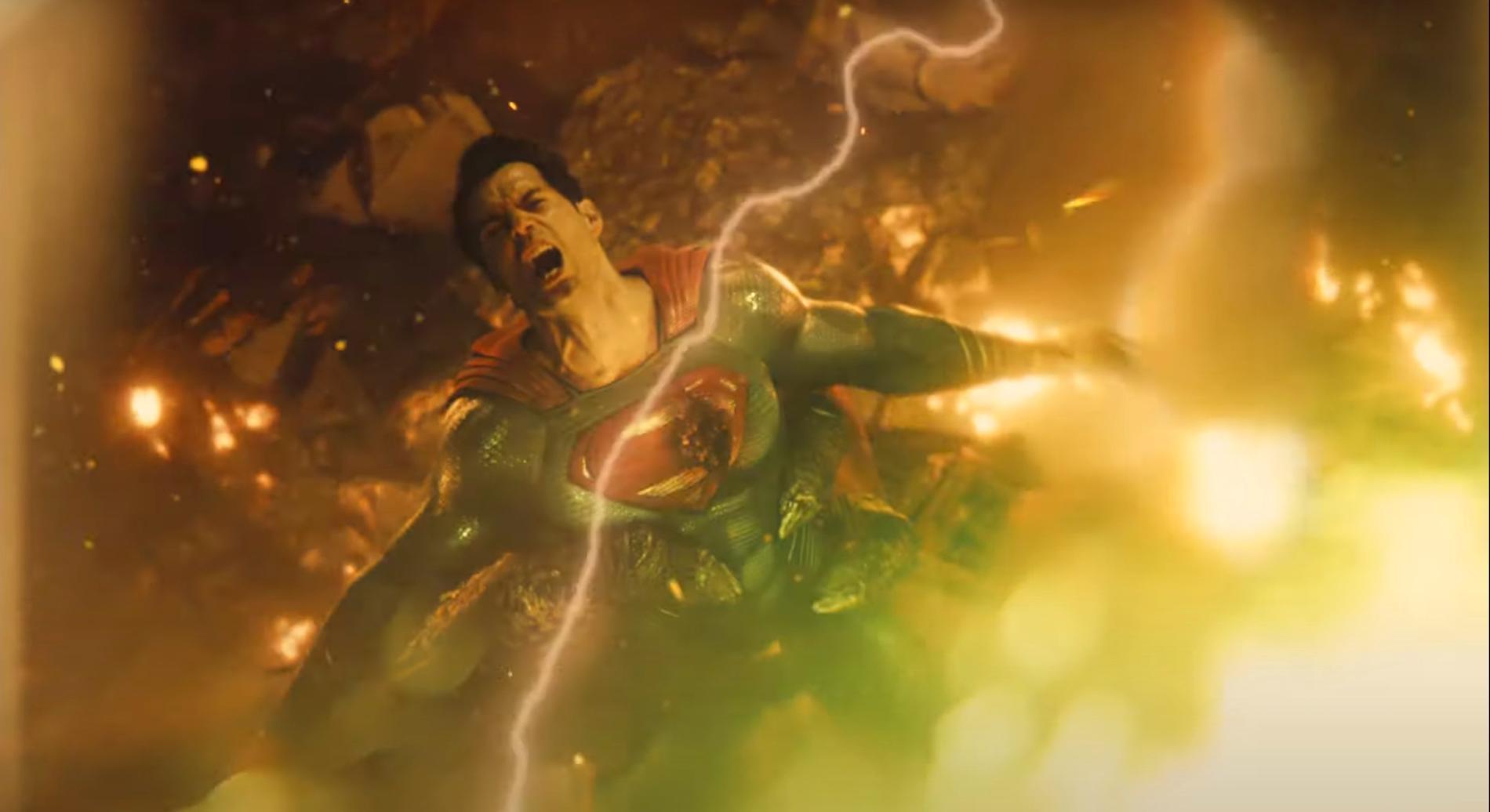 "Henry Cavill i ""Justice league""."