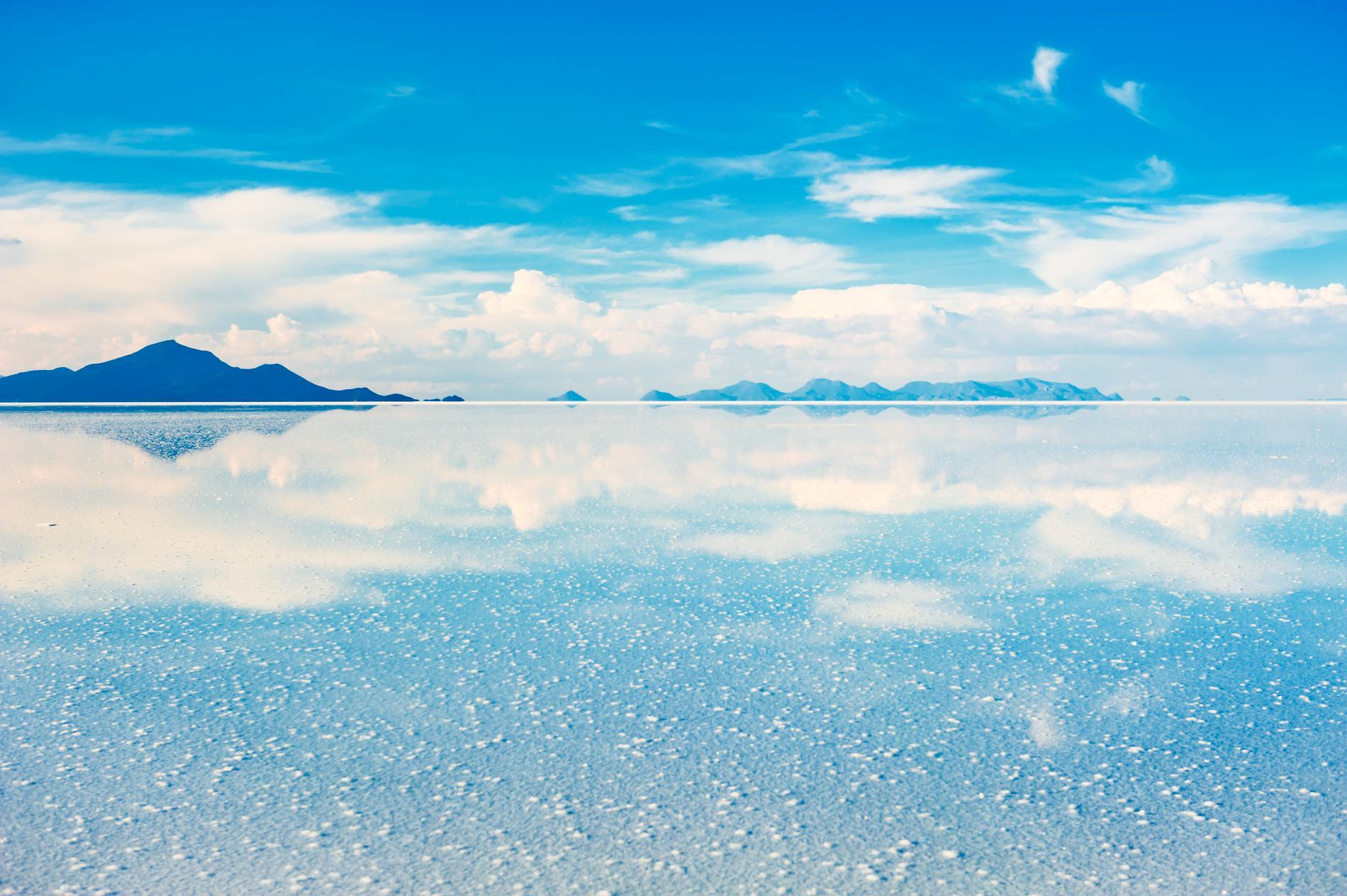 Salar de Uyuni är världens största saltöken.