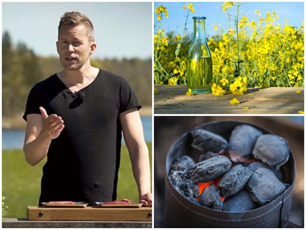Mattias Larsson tipsar om hur du tänder grillen mer miljövänligt.