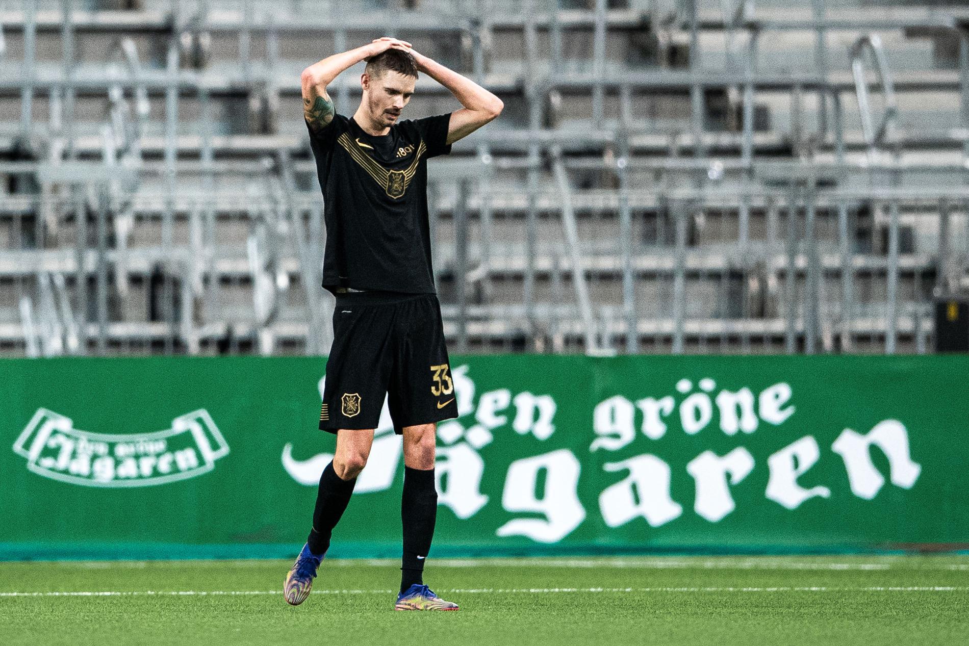 Efter derbyförlusten mot Hammarby den 7 mars.