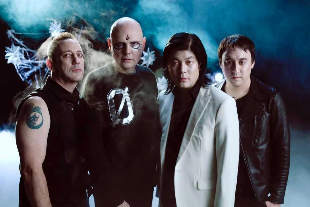 The Smashing Pumpkins anno 2018 består av tre av fyra originalmedlemmar.