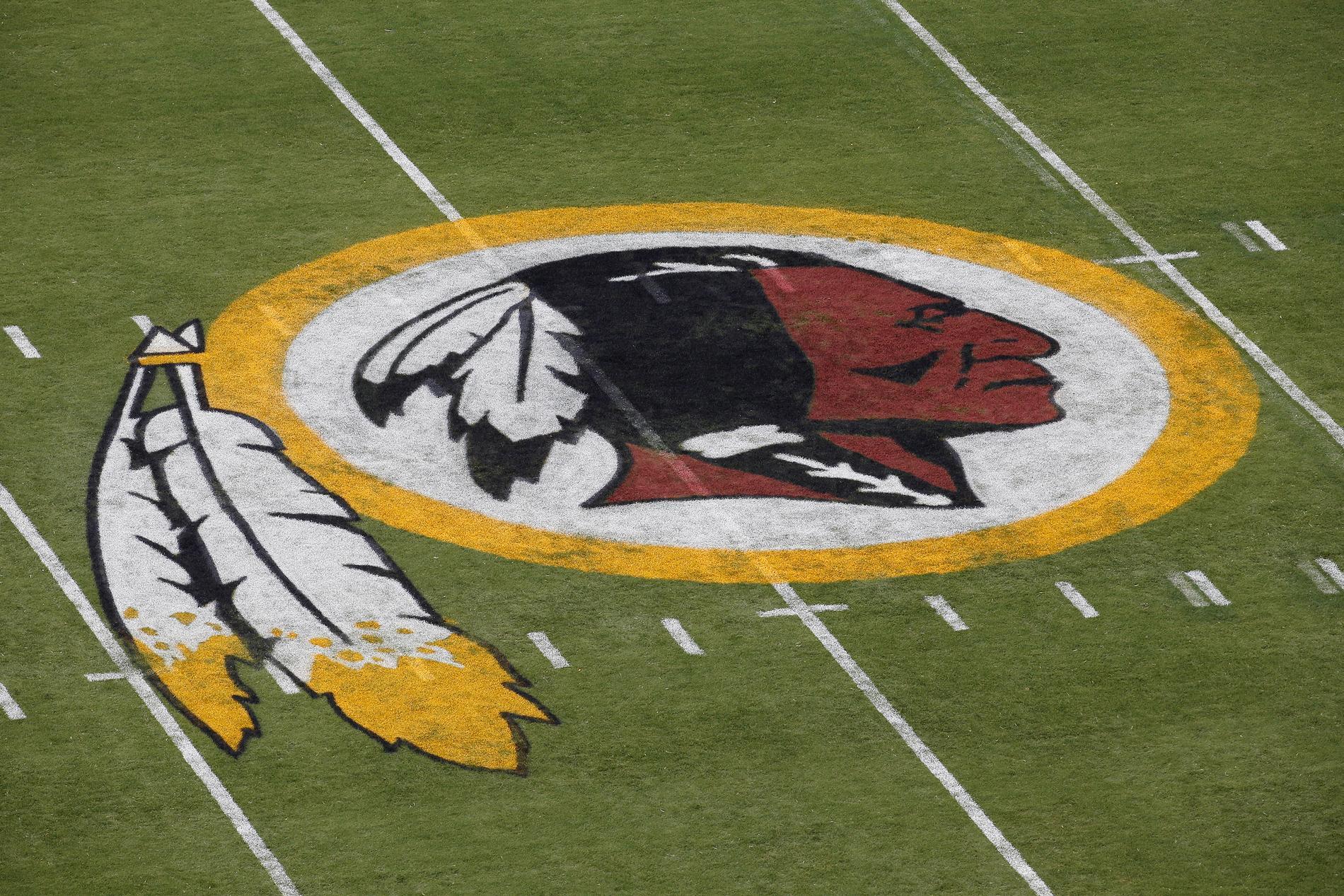 Washington Redskins klubbmärke.