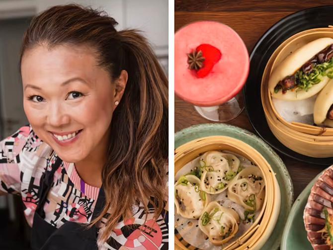 Jennie Walldén tolkar Korea på sin restaurang Namu.