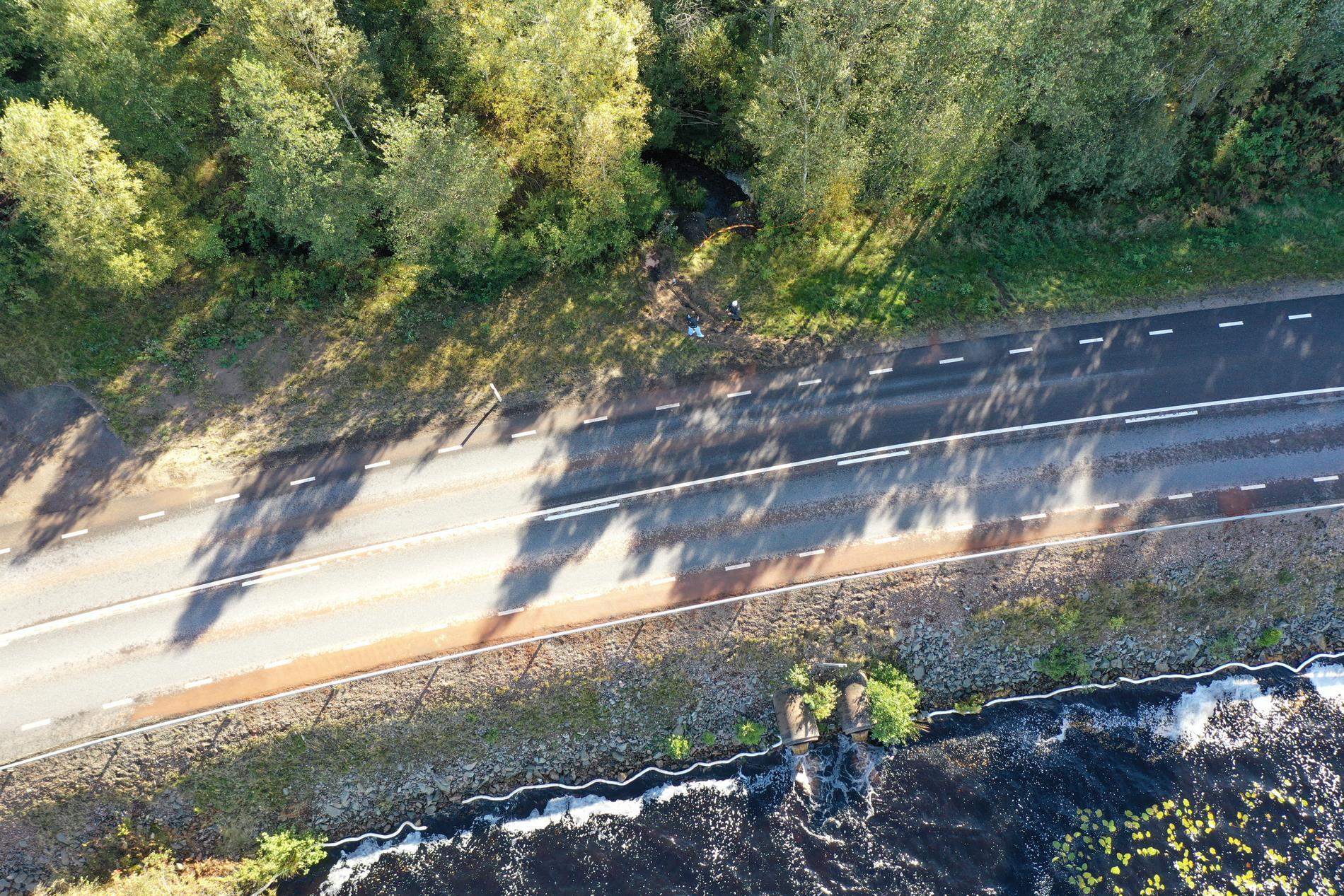 Boende i området vittnar om att det har hänt olyckor tidigare på vägen.