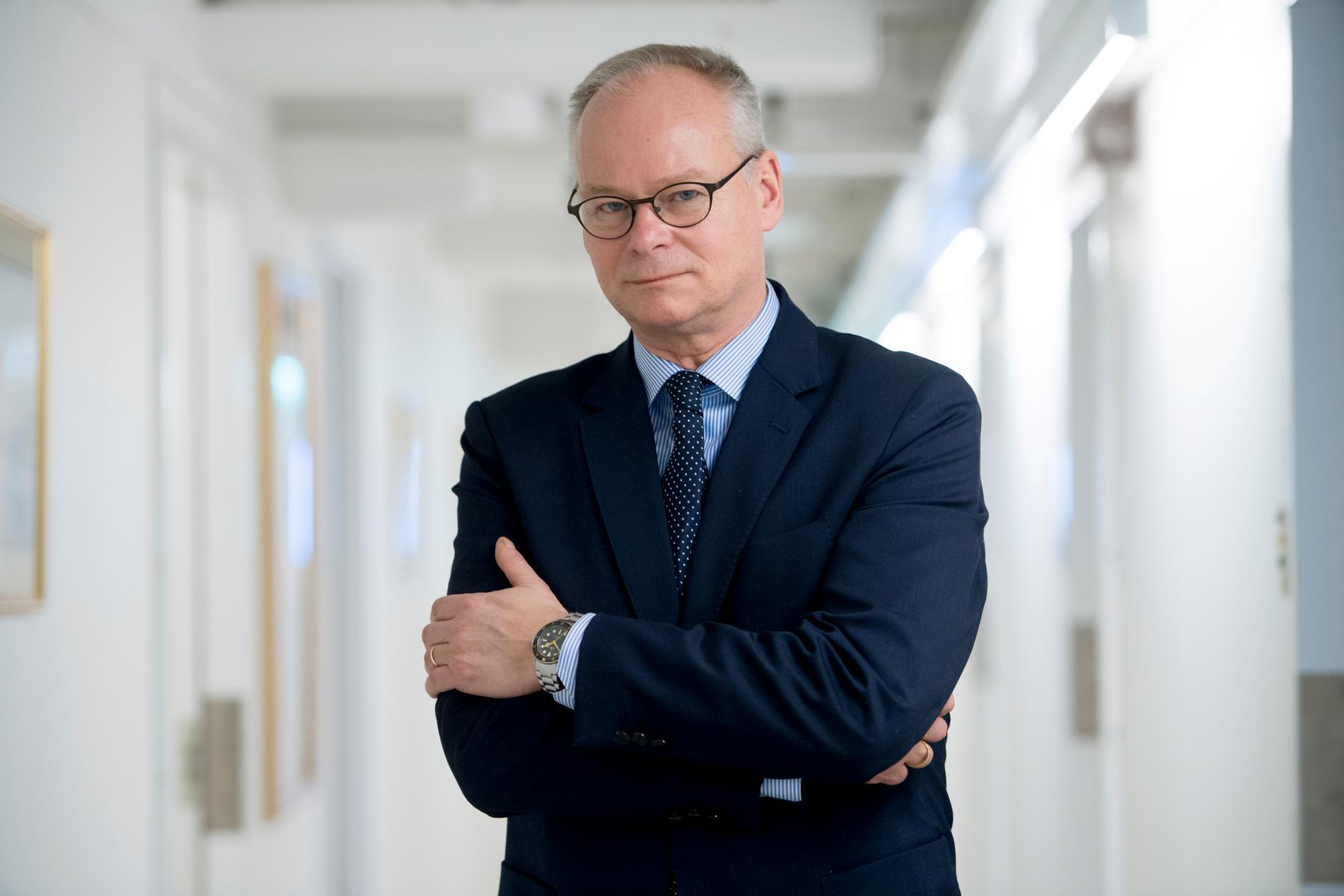 Statsvetaren Tommy Möller ser ett extraval som en logisk konsekvens av det låsta läget svensk politik befinner sig i. Arkivbild.