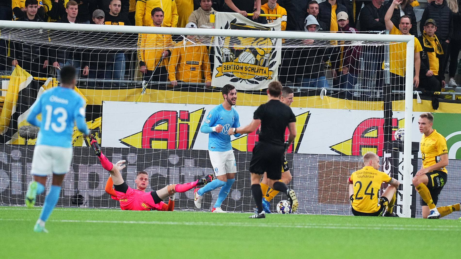 Själmålet som frälste Malmö FF mot Elfsborg.