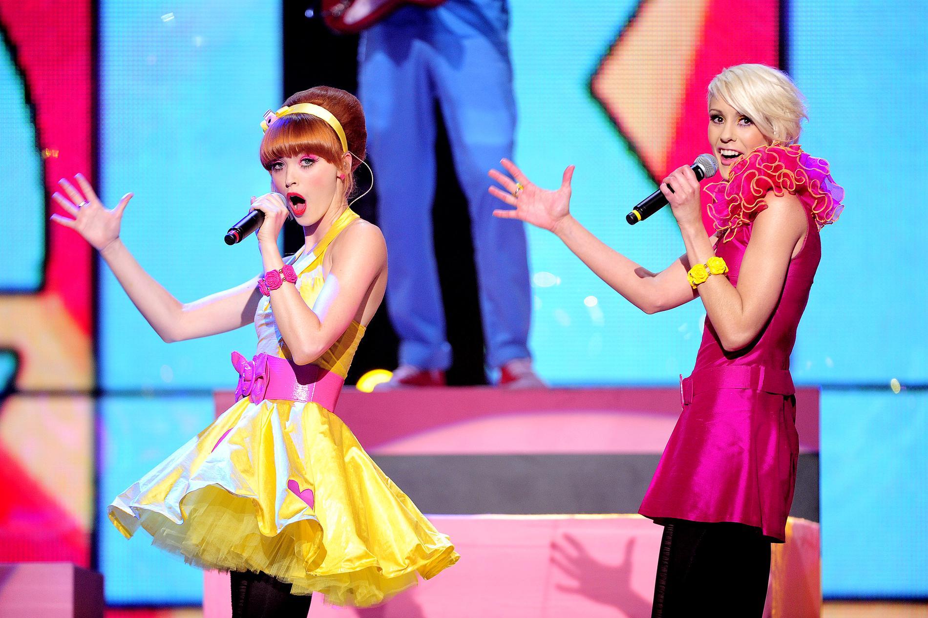 """Le kid tävlade med låten """"Oh my god"""" i Melodifestivalen 2011"""