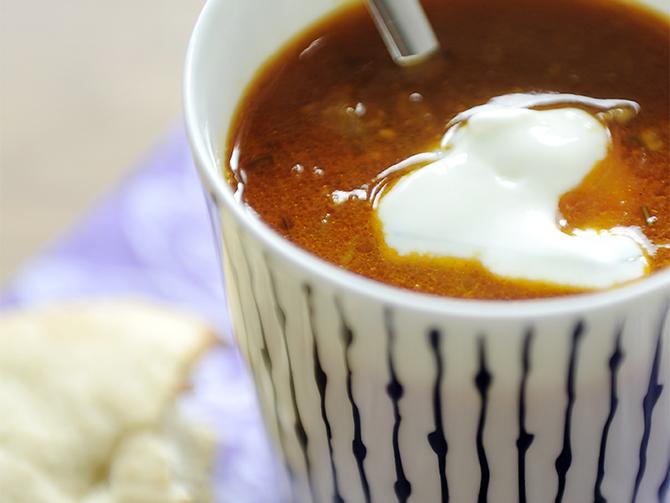 Indisk soppa.