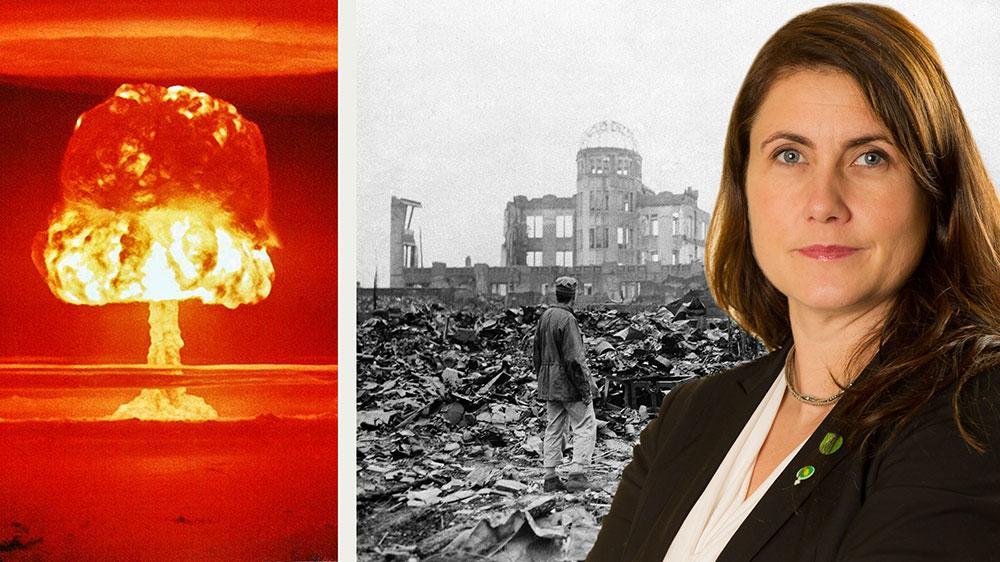 I takt med att minnena från bomberna över Hiroshima och Nagasaki 1945 bleknar, tycks rubrikerna om upprustning i världen tappa sin innebörd för många. Det får vi aldrig tillåta. Kärnvapen är det mest inhumana och urskillningslösa vapen som människan skapat, skriver debattören.