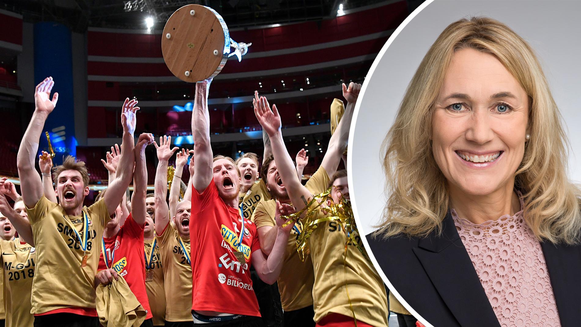 Charlotte Skott, Vd för Destination Uppsala, bekräftar att man för en dialog med Storvreta.