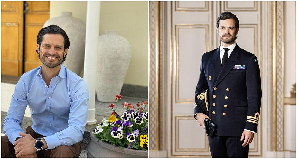 Prins Carl Philip fyller 42 år idag.