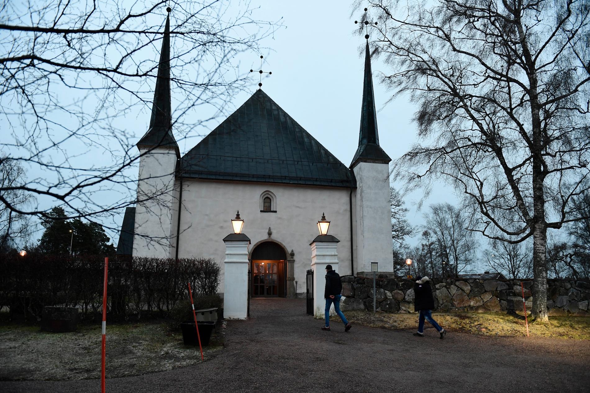 Björklinge kyrka.
