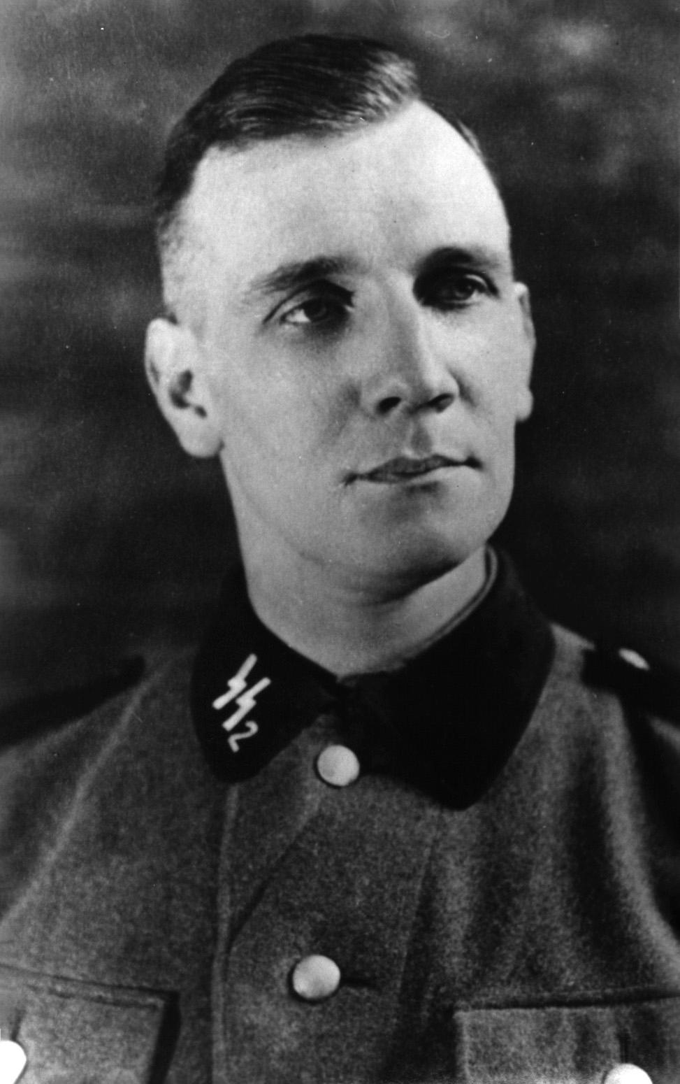 Den tyske SS-officeren Kurt Gerstein.