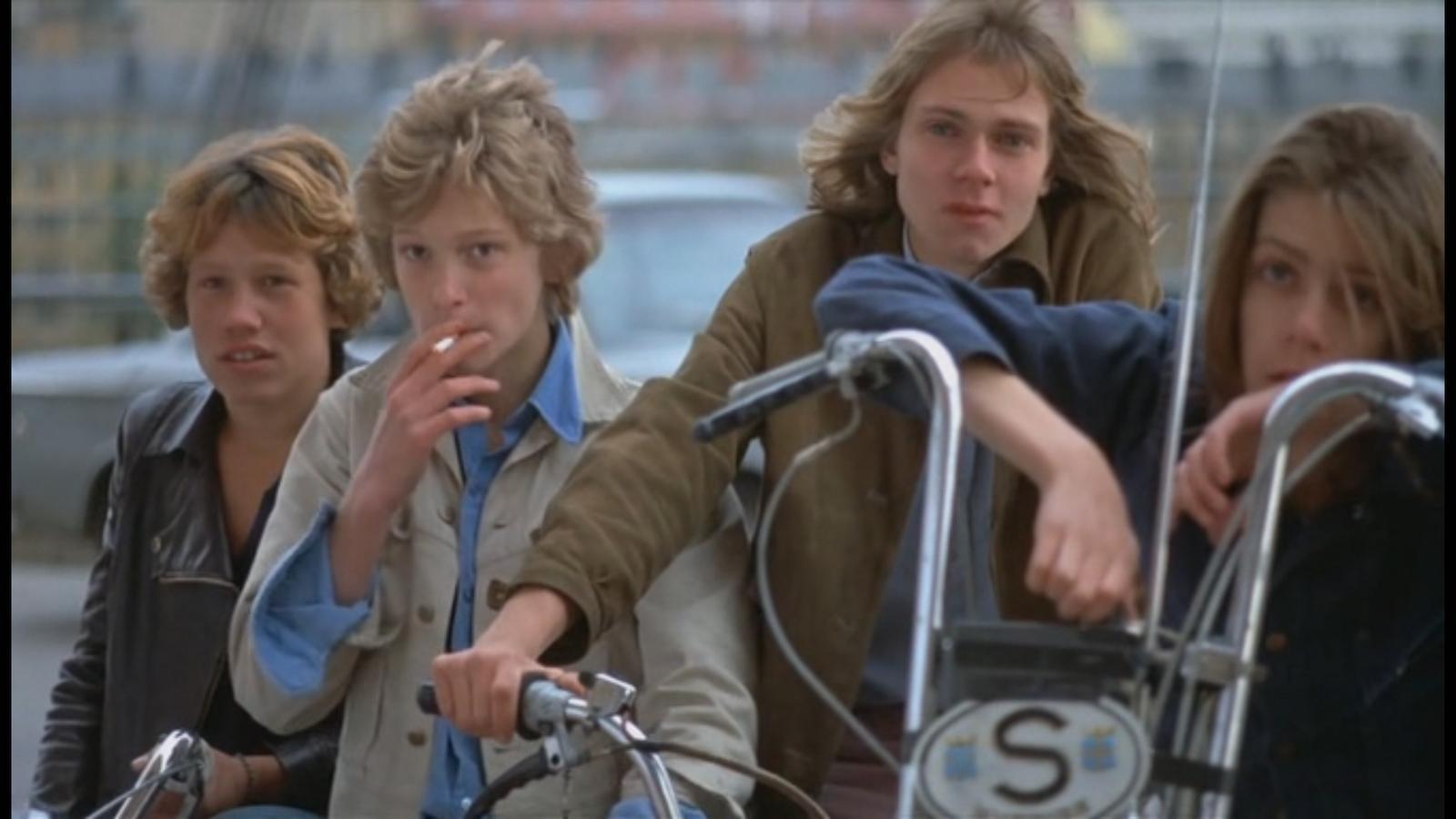 """""""En kärlekshistoria"""" (1970)."""
