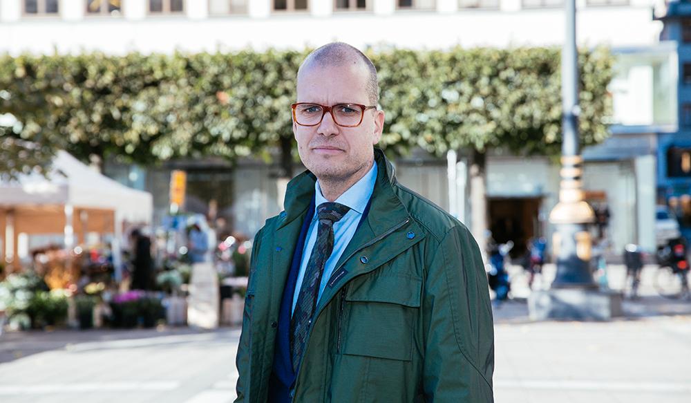 Joakim Bornold, sparekonom på försäkringsförmedlaren Söderberg & Partners.