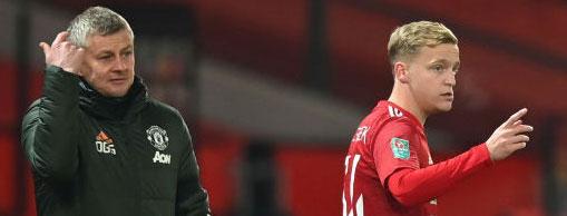 Frostigt mellan United-tränaren och holländske stjärnan.