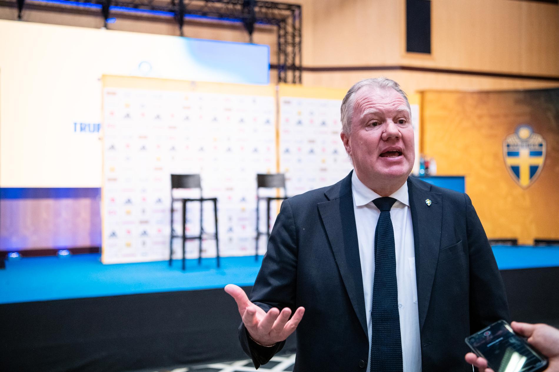 Karl-Erik Nilsson om kaoset på Wembley.