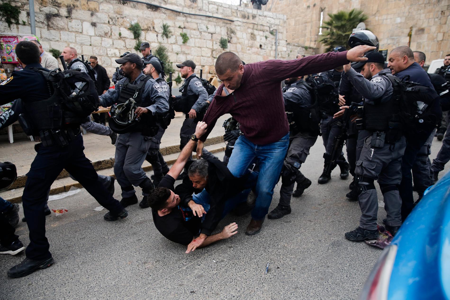 Våldsamheterna i Jerusalem är återigen på väg att eskalera.
