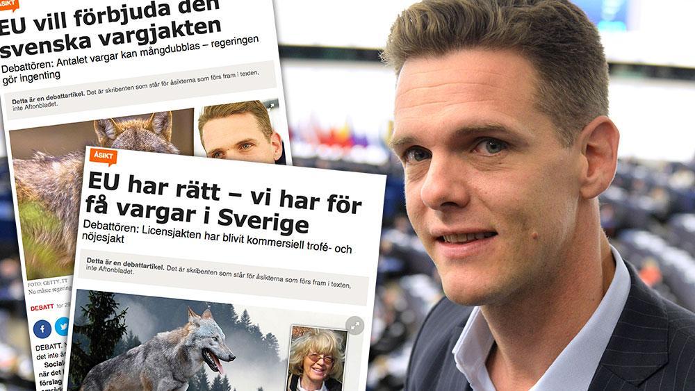 Med Kommissionens förslag kommer antalet vargar öka explosionsartat och sprida sig till områden där vi gemensamt har kommit överens om att vi inte vill ha dem, skriver Christofer Fjellner (M).