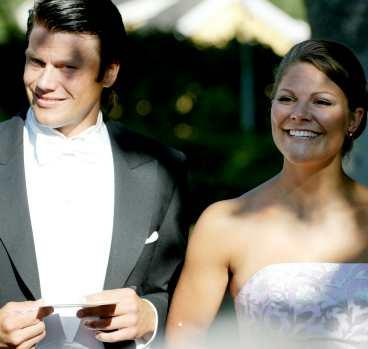 Daniel Westling och kronprinsessan Victoria har varit ett par i drygt ett år.