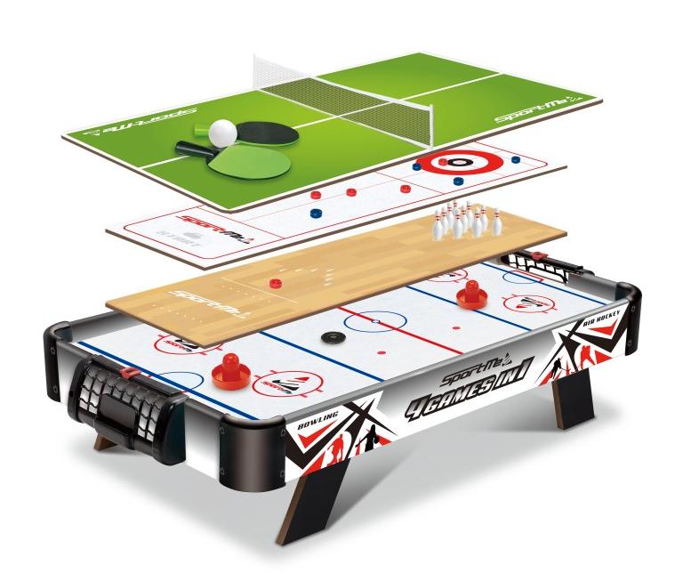 Spelbord med flera sorters spel