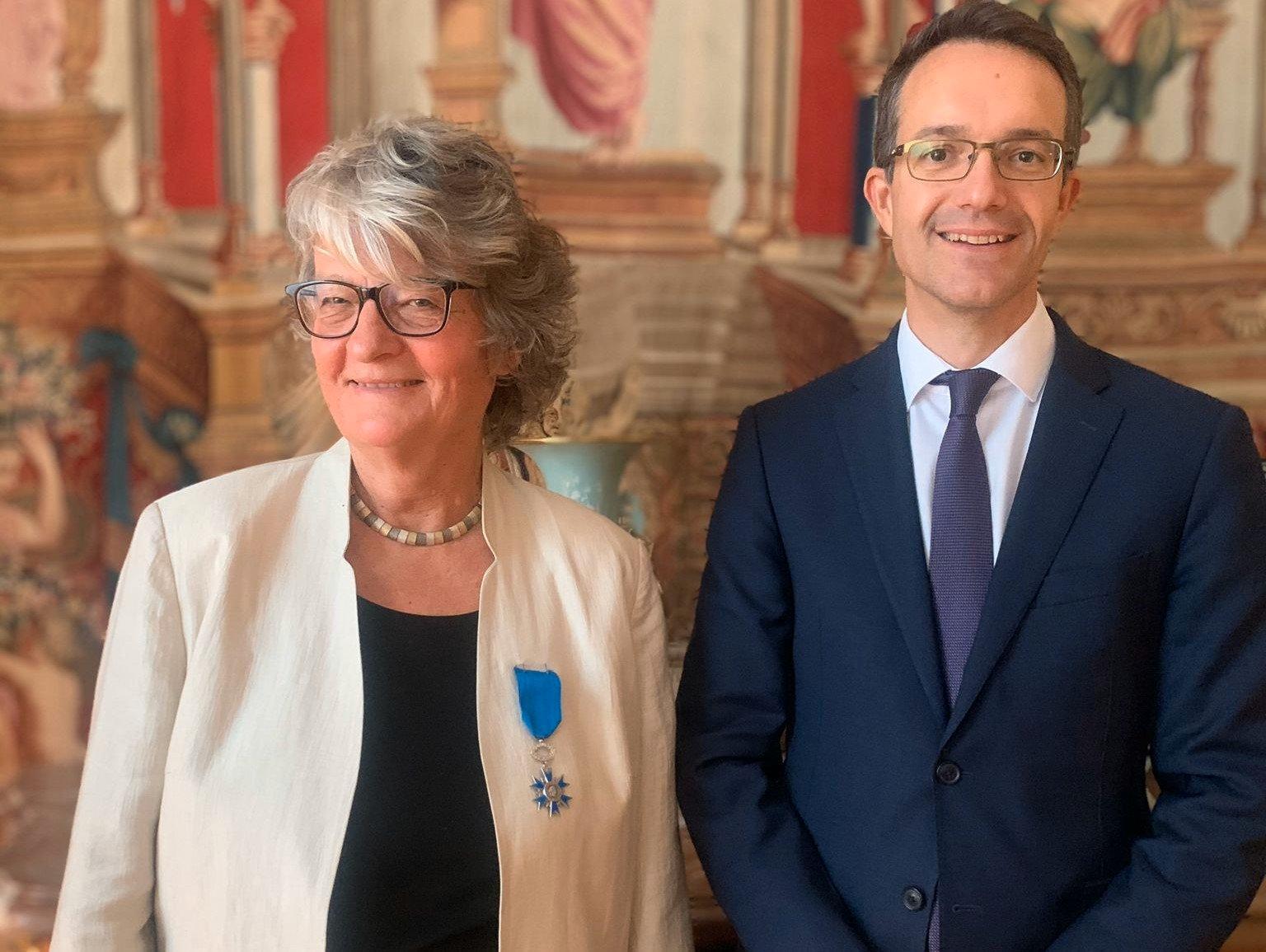 Svensk journalist får fransk ordensutmärkelse