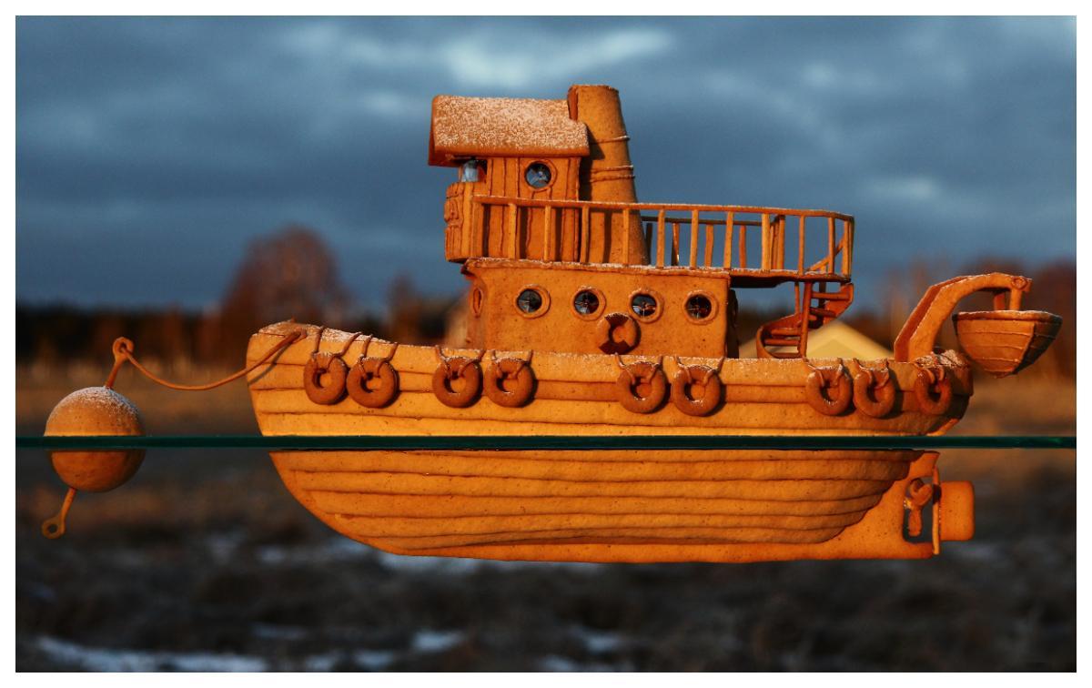 Husbåten Julia