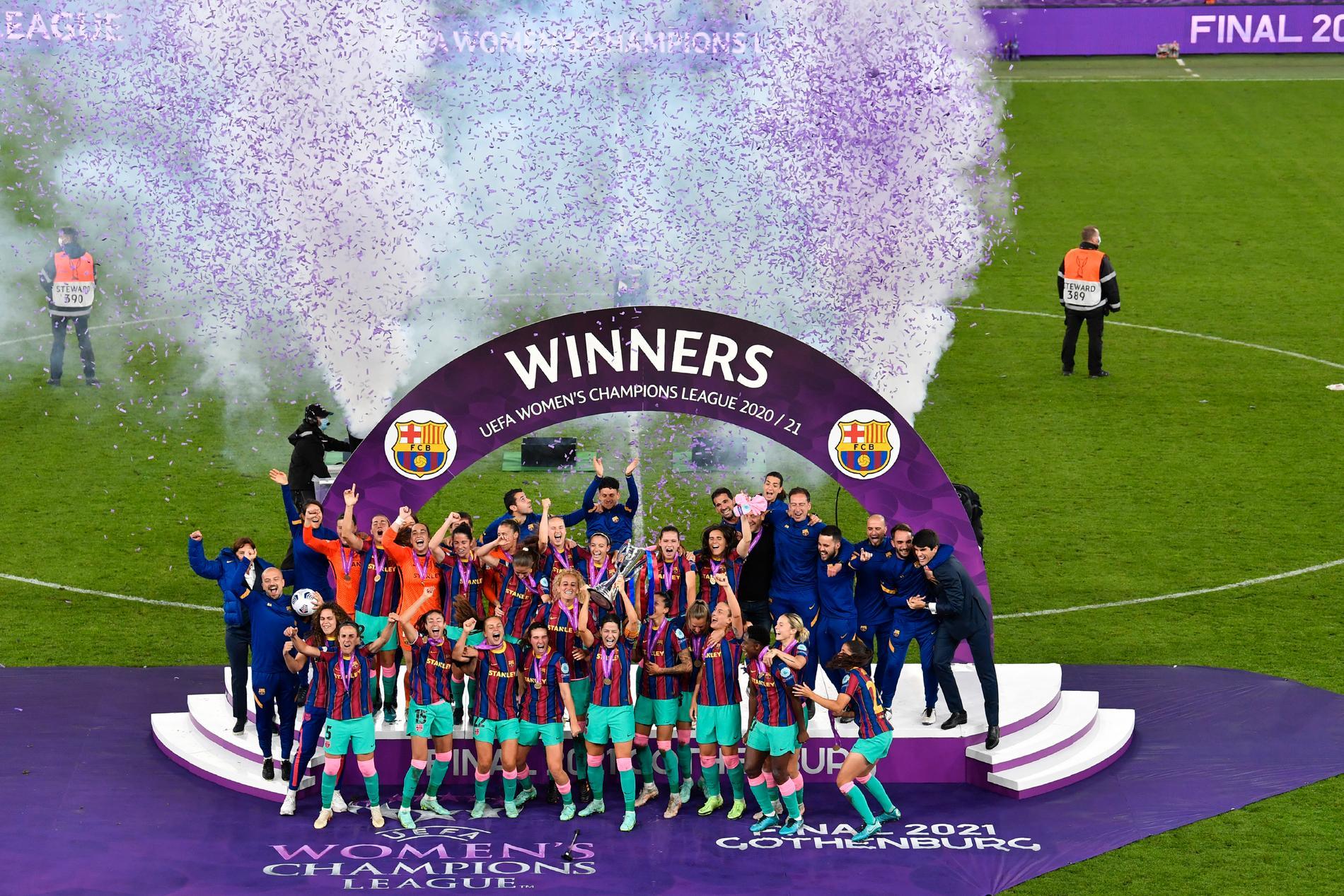 Barcelona bröt Lyons dominans i fjol. Ny succé i år?