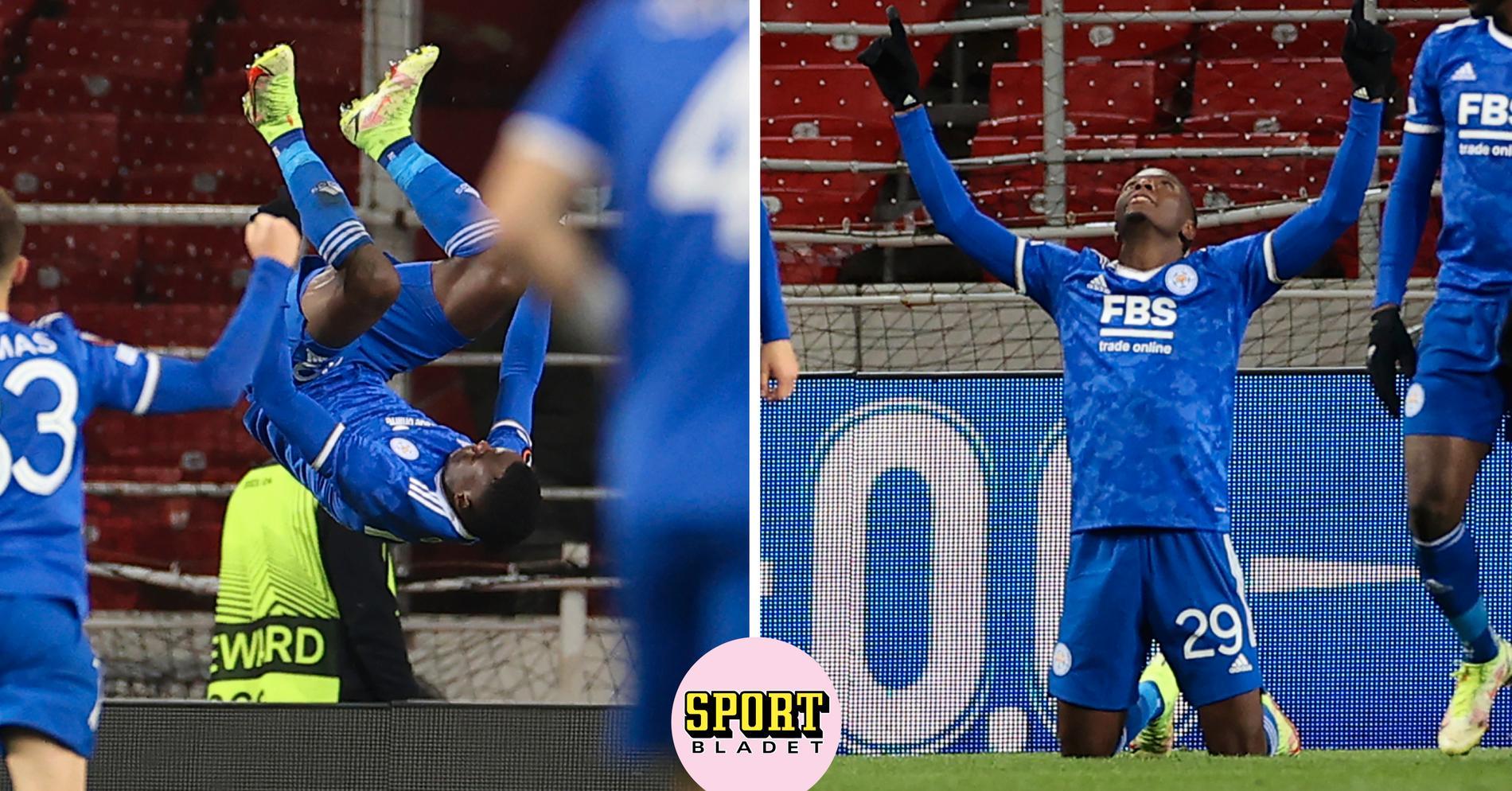 Hattrick på nio minuter – mot Jordan Larssons Spartak Moskva