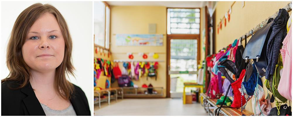 Maria Olausson är jurist och undervisningsråd på Skolverket.