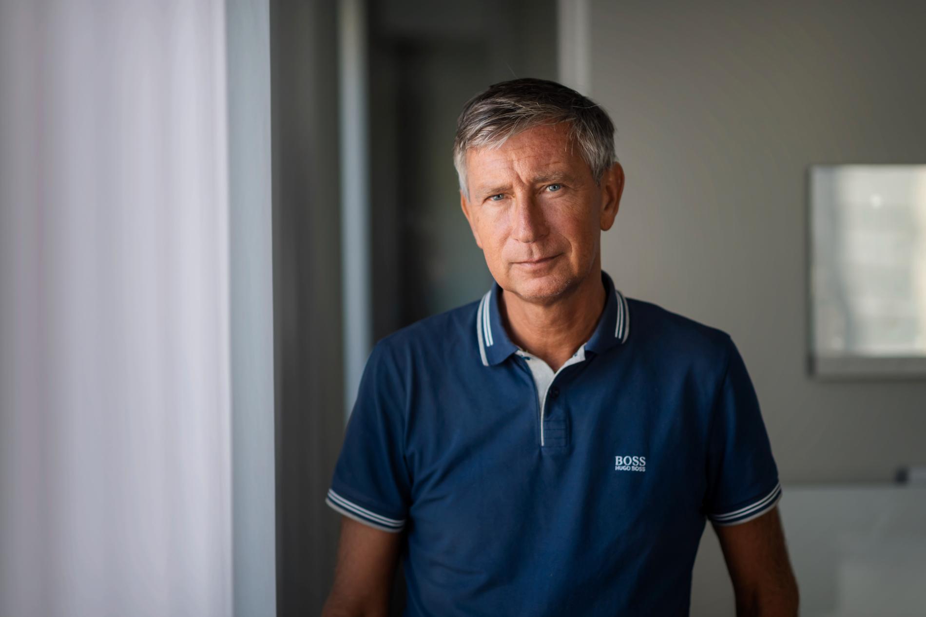 Vaccinsamordnare Richard Bergström.