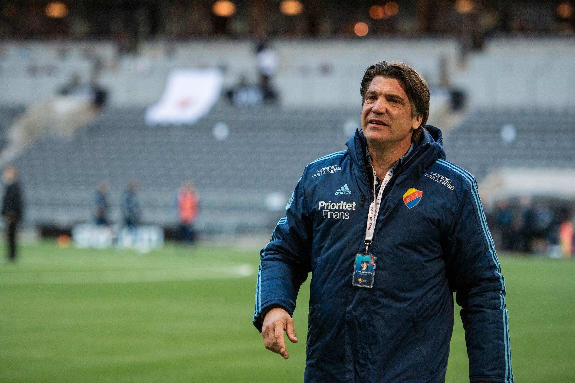 Djurgårdens sportchef Bosse Andersson.