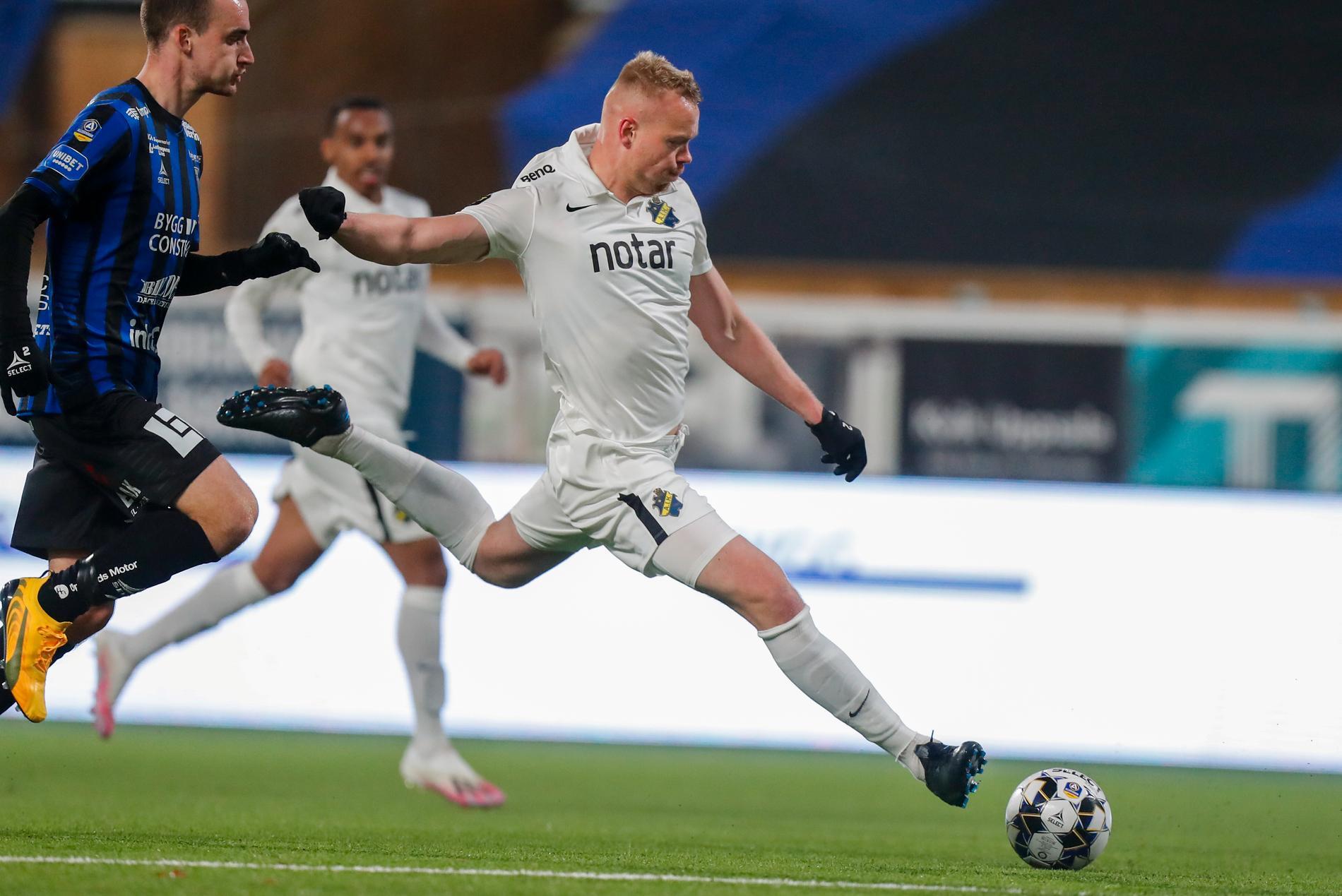 Kolbeinn Sigthorsson lämnar AIK efter säsongen. Arkivbild.