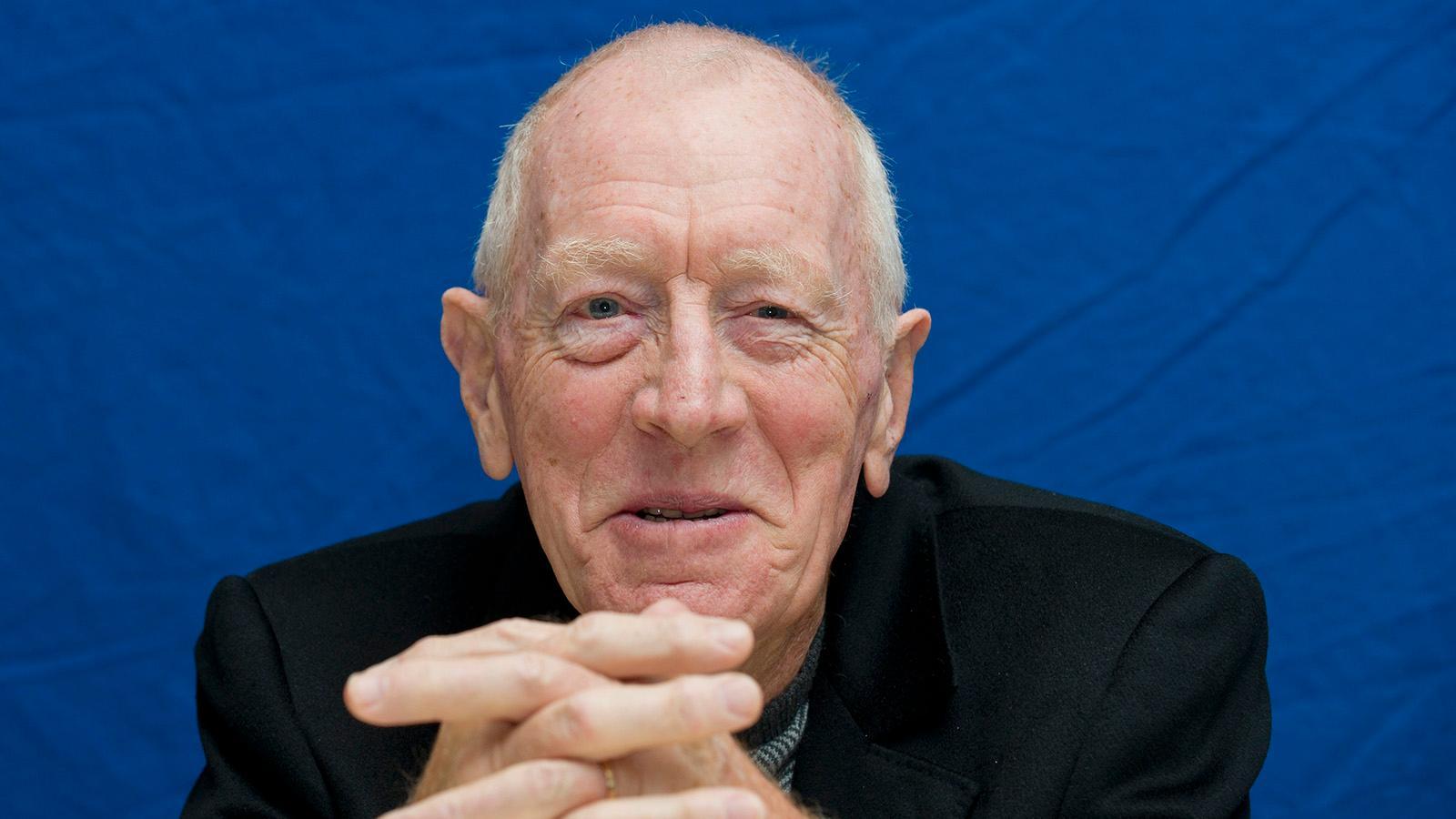 Max von Sydow blev 90 år.