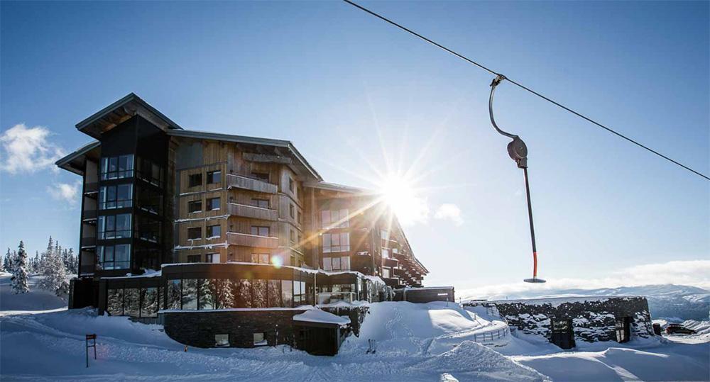 Copperhill Mountain Lodge är utsett till Sveriges bästa skidhotell.
