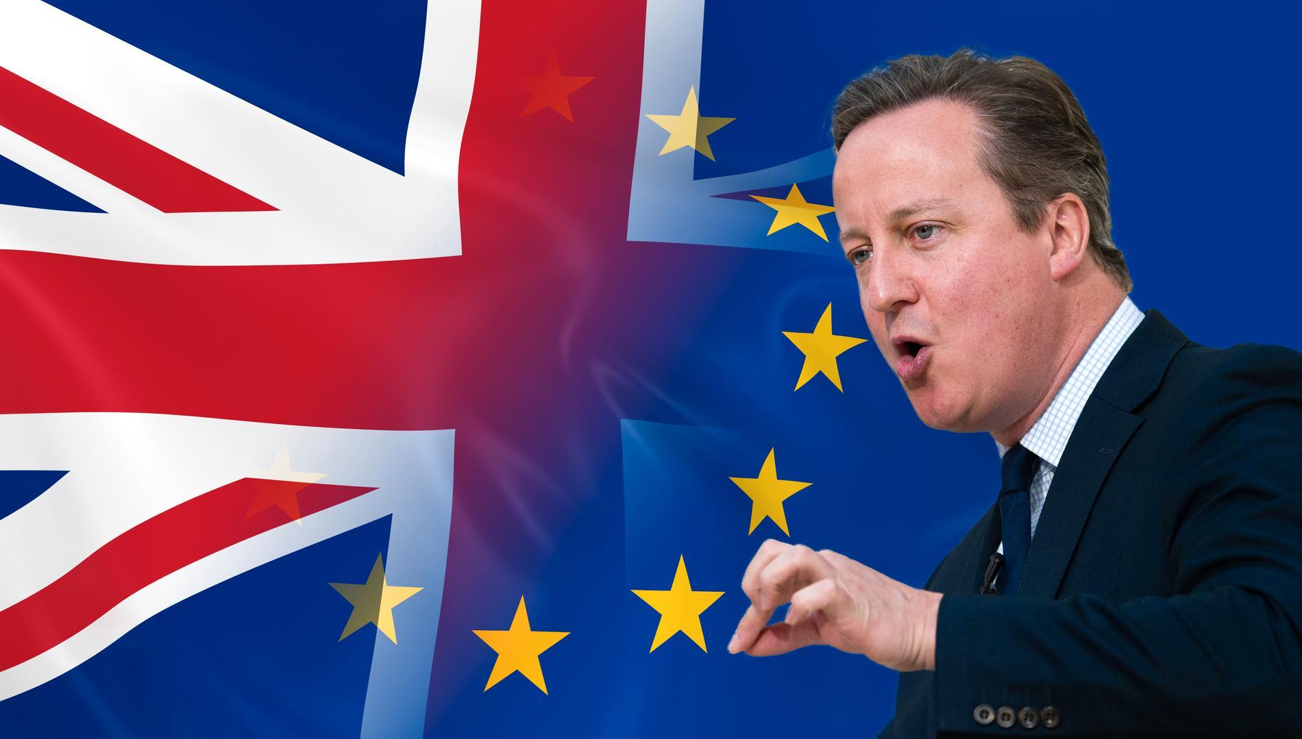 SPELAR ETT HÖGT SPEL. Premiärminister Cameron utlyste folkomröstningen – som kan sluta hur som helst.